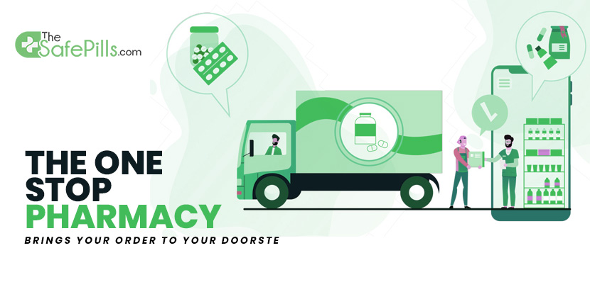 The One Stop Pharmacy Brings Your Order To Your Doorstep